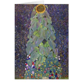 Klimt ~ That is Sonnenblume Card