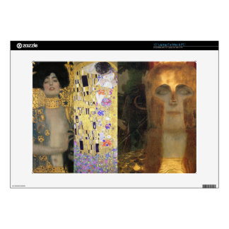"Klimt ""The Kiss"" ""Athena"" ""Judith II"" Fine Art Decals For Laptops"