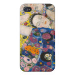 Klimt The Virgin Cover For iPhone 4