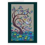 Klimt tree cards