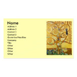 Klimt Tree of Life Double-Sided Standard Business Cards (Pack Of 100)