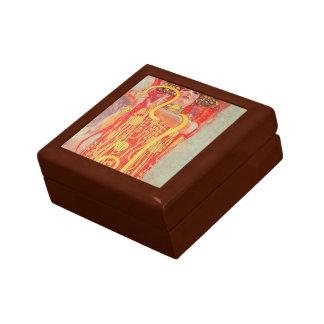 Klimt-Universidad de Gustavo de la pintura del tec Cajas De Recuerdo