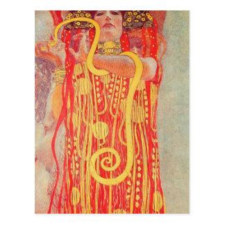 Klimt-Universidad de Gustavo de la pintura del tec Tarjeta Postal