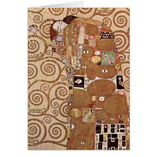 Klimt - Werkvorlagen zum Stocletfries Card