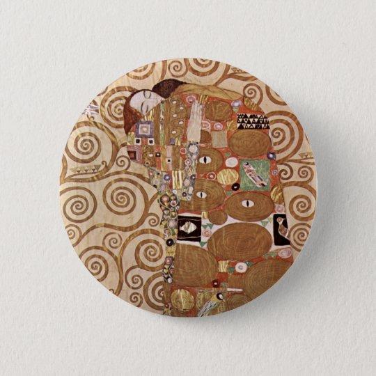Klimt - Werkvorlagen zum Stocletfries Pinback Button