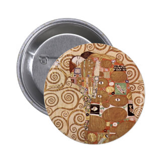 Klimt - Werkvorlagen zum Stocletfries Pinback Button