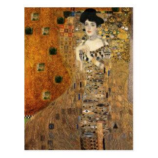 Klimt's Portrait Adele Bloch-Bauer Postcard
