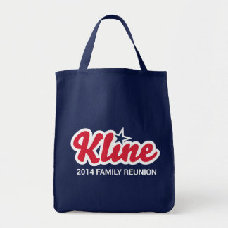 Kline Family Reunion Grocery Tote