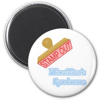 Klinefelter's Syndrome 2 Inch Round Magnet