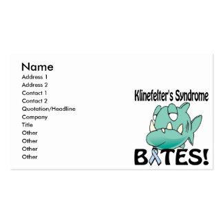 Klinefelters Syndrome BITES Business Card