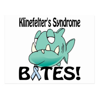 Klinefelters Syndrome BITES Postcard