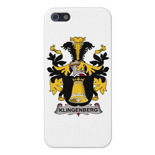 Klingenberg Family Crest iPhone 5 Cases