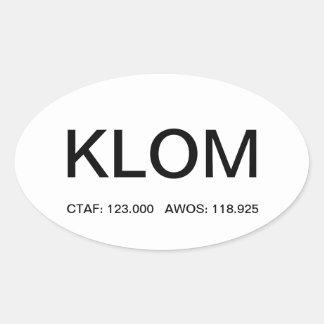 KLOM - Wings Airfield Sticker