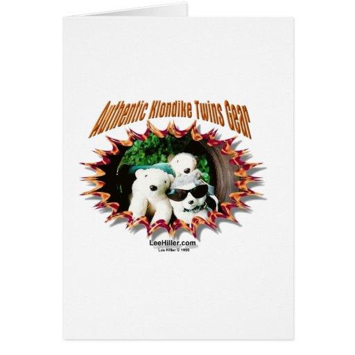 Klondike hermana los regalos y las camisetas ofici tarjeta de felicitación