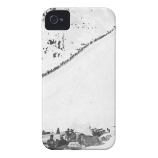 Klondikers de Alaska iPhone 4 Case-Mate Cárcasa