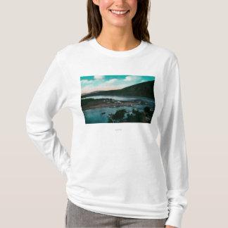 Klondyke River, Alaska Suspension Bridge T-Shirt