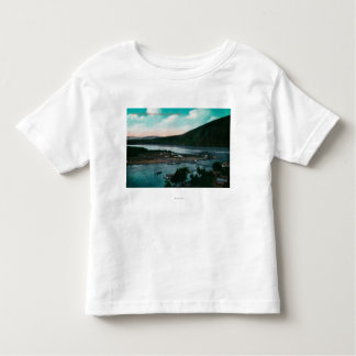 Klondyke River, Alaska Suspension Bridge Toddler T-shirt