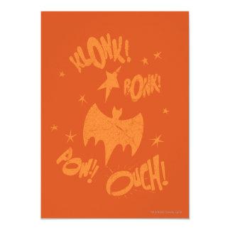 KLONK POW Bat Symbol Graphic Card