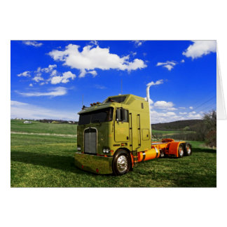 Kloppy's Kenworth K100 #1 Note Card