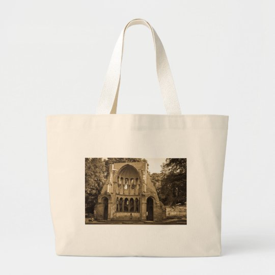 Kloster Ruine Heisterbach bei Bonn Large Tote Bag