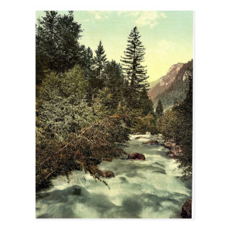 Klosters, gorges of the Landquart, Grisons, Switze Post Cards