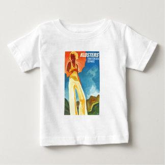 Klosters Graubunden Switzerland Vintage Baby T-Shirt