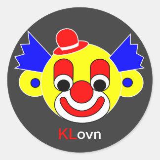KLovn Classic Round Sticker