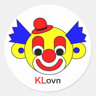 KLovn - Den Fri Forhandlingsret er Død Classic Round Sticker