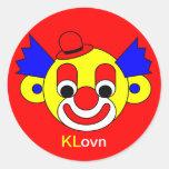 KLovn Etiqueta Redonda