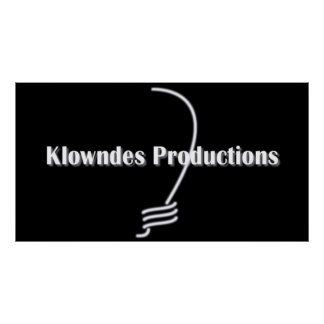 Klowndes Productions Poster