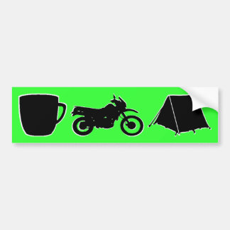 KLR dualsport bumpersticker Bumper Sticker