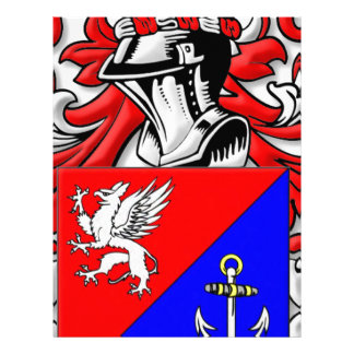 Kluge Coat of Arms Personalized Letterhead
