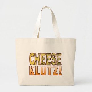 Klutz Blue Cheese Large Tote Bag