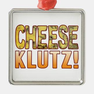 Klutz Blue Cheese Metal Ornament