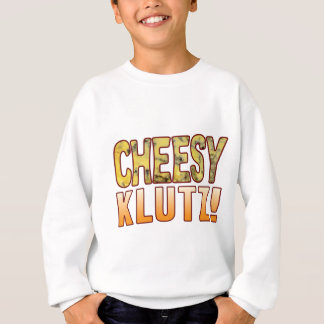 Klutz Blue Cheesy Sweatshirt