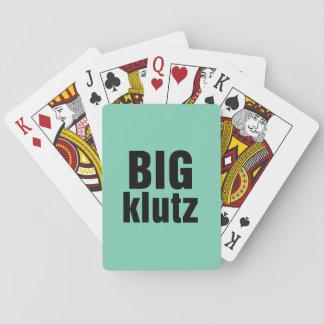 Klutz grande baraja de póquer