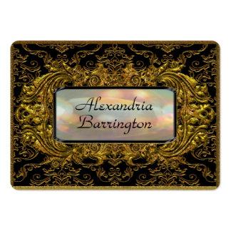 Klysworth Eve Elegant  Professional Large Business Cards (Pack Of 100)