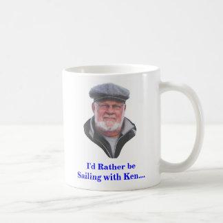 km2, I'd Rather be Sailing with Ken.... Mug