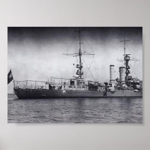 KM emden world war 2 ship Poster