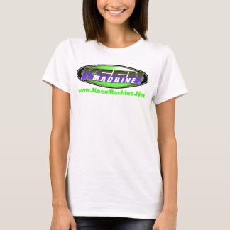KM Exclusive LADIES Logo BabyDoll T WTE/GRN! T-Shirt