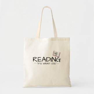 """KM Golland Reading. """"It's what I do"""" Tote Bag"""