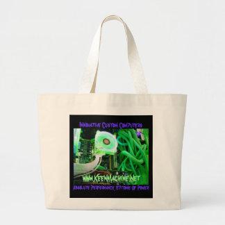 KM Unique MediaMatriX TOTE!!! Tote Bags