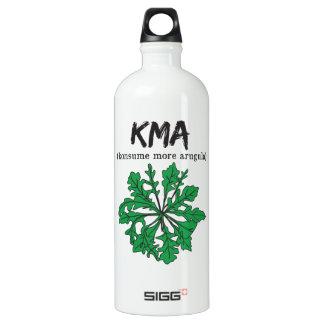 kma/konsume more arugula aluminum water bottle