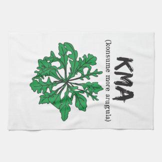 kma/konsume more arugula kitchen towel