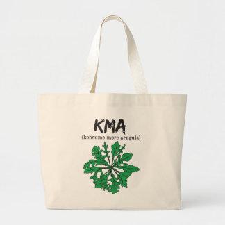 kma/konsume more arugula large tote bag