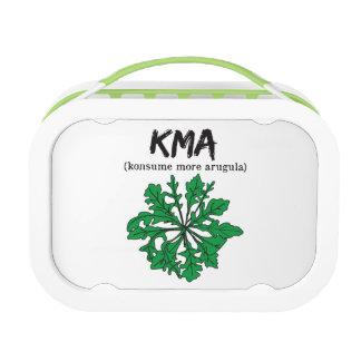 kma/konsume more arugula lunch box
