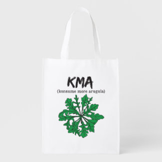 kma/konsume more arugula market tote