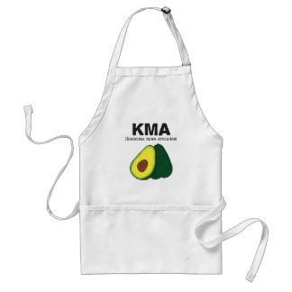 kma. (konsume more avocados) adult apron