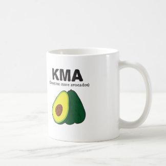 kma. (konsume more avocados) coffee mug