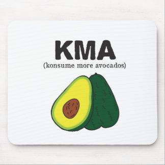 kma. (konsume more avocados) mouse pad
